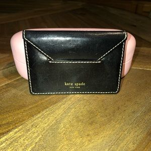 Kate Spade Leather Business Card Case
